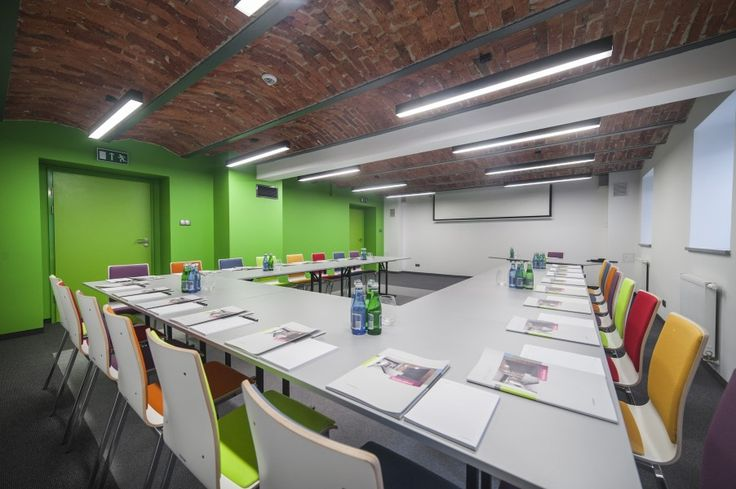 INTERIOR DESIGN OF HOTEL - conference rooms / TOBACO HOTEL by EC-5 Architects / Lodz Poland
