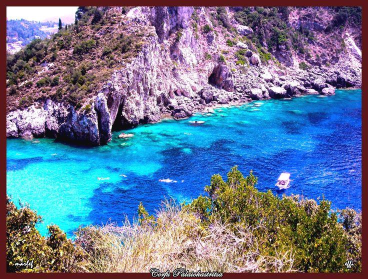Corfu, Palaiokastritsa