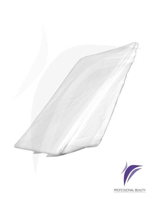 Sábana Plástica x10: Sábana plástica para envoltura en tratamientos estéticos.