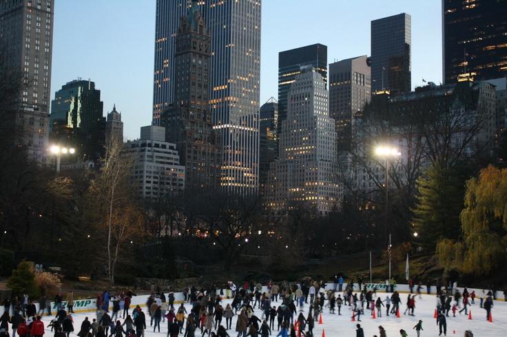 Ice skating in NY