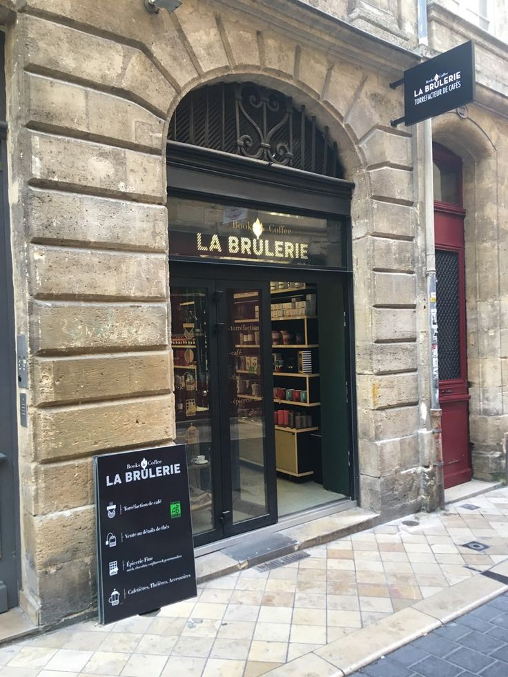 Enseigne La Brûlerie Bordeaux Bordeaux