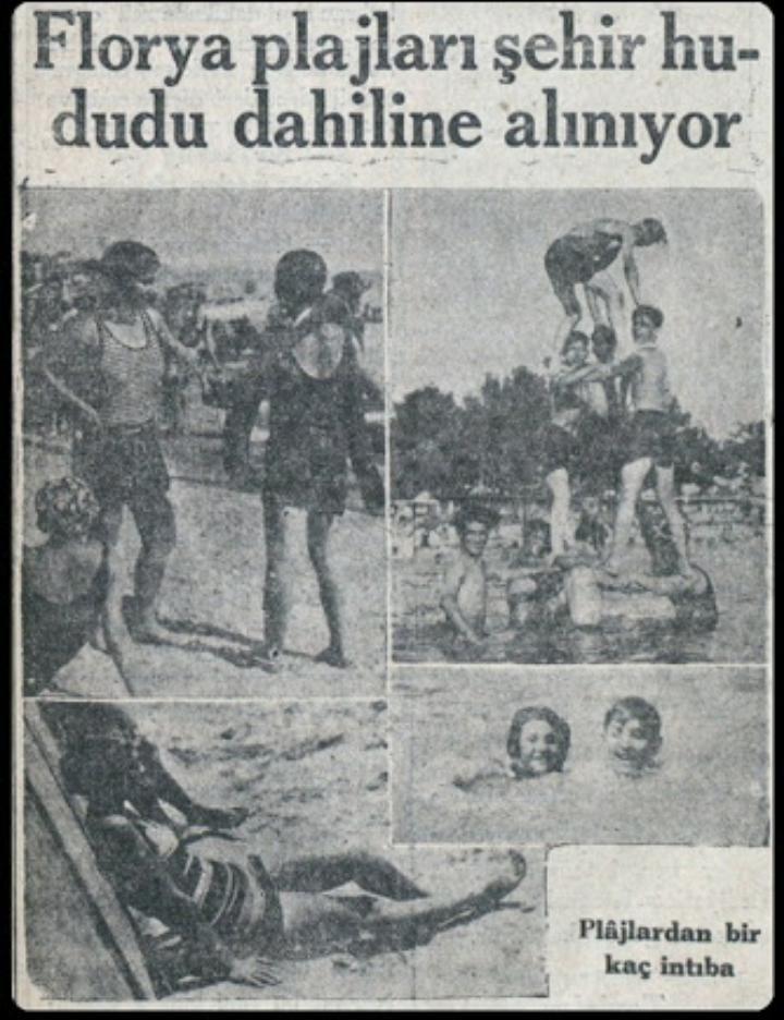 """""""Florya Plajları şehir hududu dahiline alınıyor"""" İnkılap  (1930) #istanbul #istanlook #eskihaberler"""