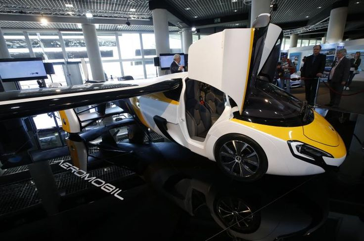 A Slovakia-based company unveiled the commercial design for a flying car priced at more than $1 million on Thursday, saying it was ready for pre-orders with first deliveries expected by 2020.