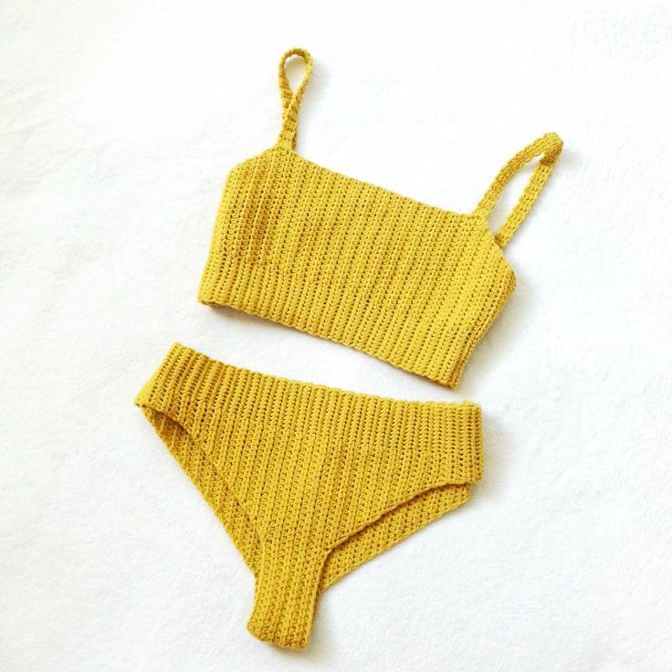 Crochet Vega Bikini Set. Free pattern with video tutorial. – Didem Erdoğan Alan