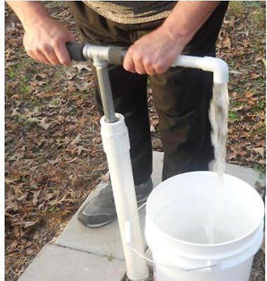 WELL HAND PUMP - BUILD YOUR OWN Deep Well Hand Pump kit - via ebay