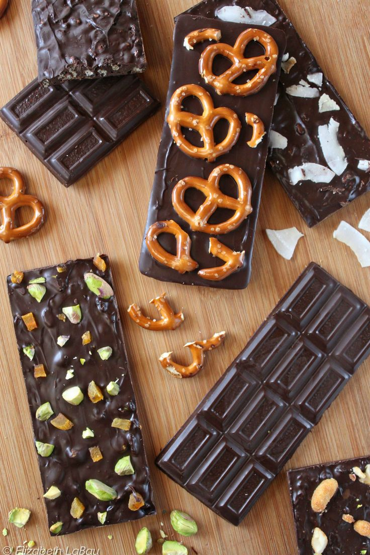 Design-Your-Own Chocolate Bars - make candy bars with all of your favorite ingredients!   From Candy.About.com