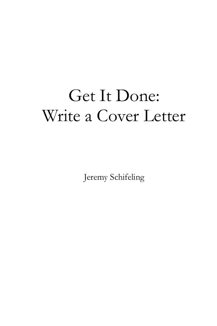 25 best perfect cover letter ideas on pinterest