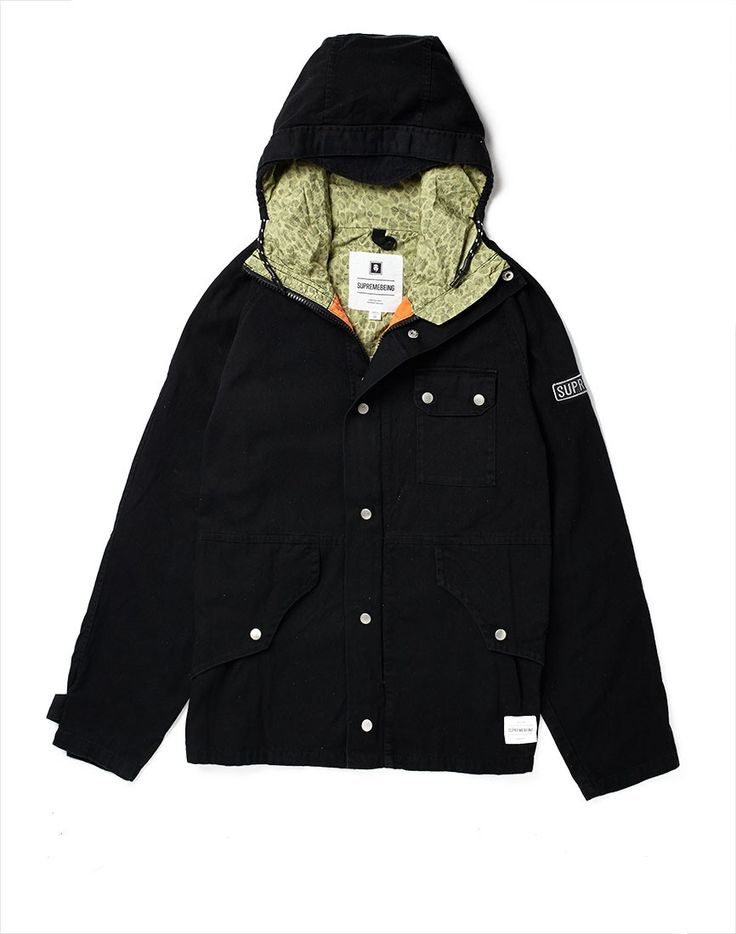 Supreme Being Jacket with Hood