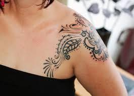 Top 10 Best Sexy Women Shoulder Tattoo Designs 2013