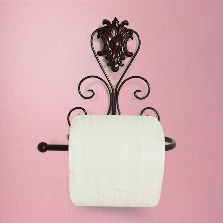 Creative туалетной бумаги Держатель туалетной бумаги Держатель рулона туалетной держатель туалетной бумаги держатель из кованого железа ванной полотенце стойку
