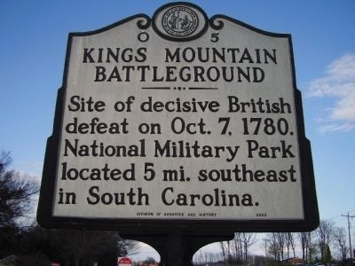 Kings Mountain North Carolina
