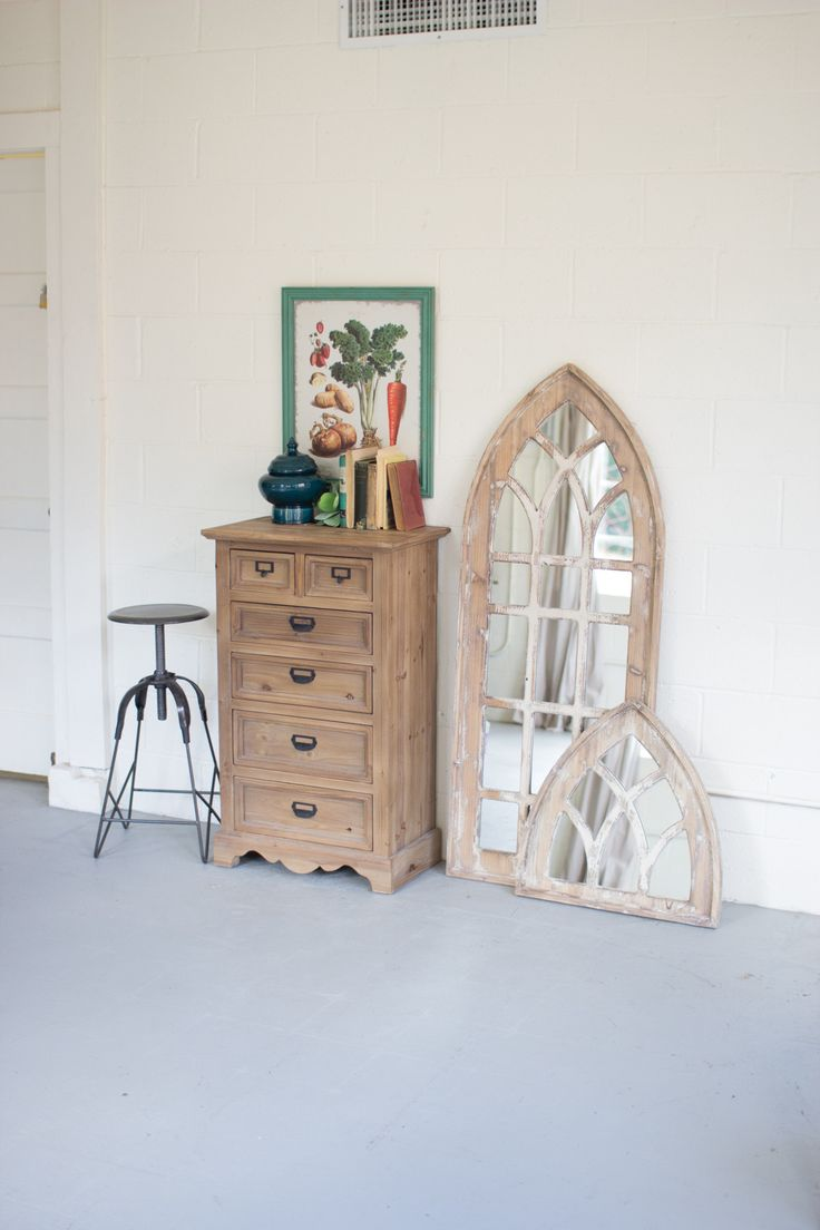 If you don't have space for our Tall Church Window Mirror, then enjoy this…