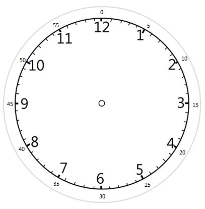 a printable clock face with hands including minutes if required but are removeable kids. Black Bedroom Furniture Sets. Home Design Ideas