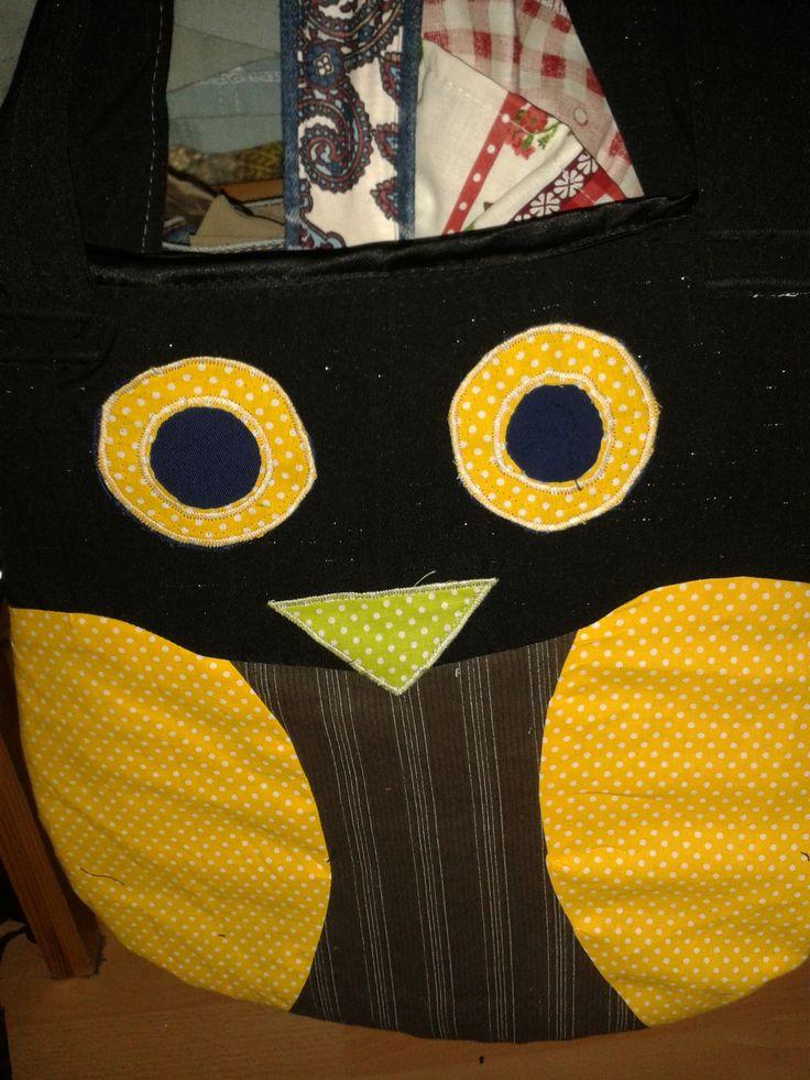 bagoly táska