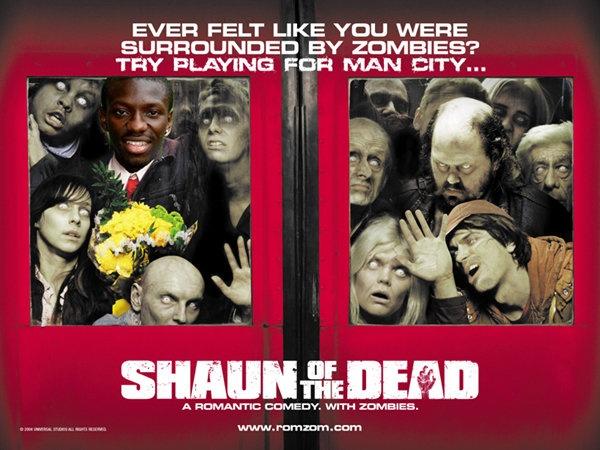 Shaun of the Dead, starring Shaun Wright-Phillips