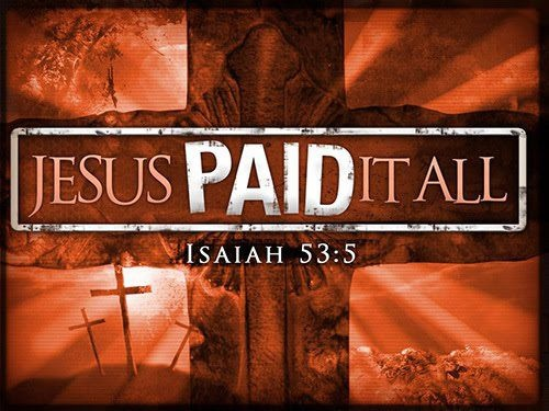 Jesus paid the price that no one else could pay.
