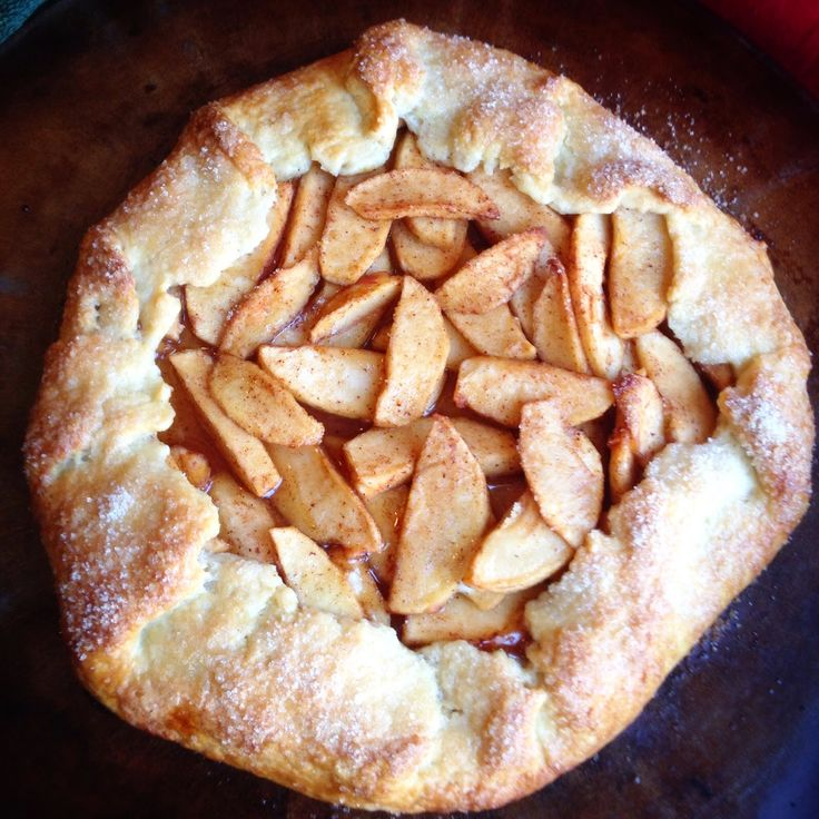 Apple Galette with Whiskey Salted Caramel Sauce | Pies/Tarts ...