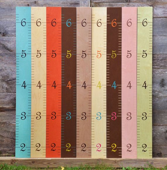 61 best kids 39 rooms height charts images on pinterest for Growth chart for kids room