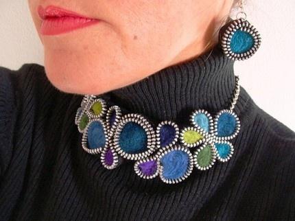 }}}}}zipper jewelry{{{{{