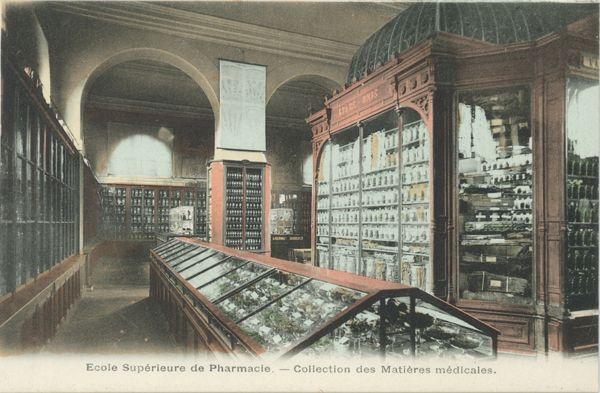 Ecole supérieure de pharmacie de Paris. Collection des matières médicales. [Faculté de pharmacie de [...] impharma_dos316x016