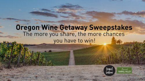 Oregon Wine Country Getaway Sweepstakes {US} (7/31/2017) via... sweepstakes IFTTT reddit giveaways freebies contests