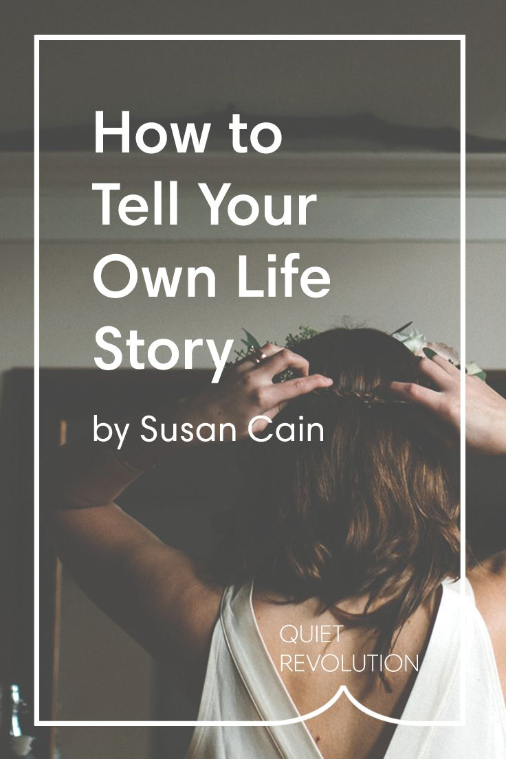 how to begin a story about your life