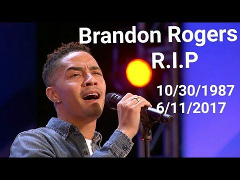 ■ Brandon Rogers Golden Voice Tragically Passed Away ■ America's Got Talent 2017 ■ Brandon Rogers died after his audition in Car accident, At the request Of his Family We would Honor His Memory By sharing His audition with you.