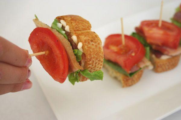 BLT bites-good party snacks