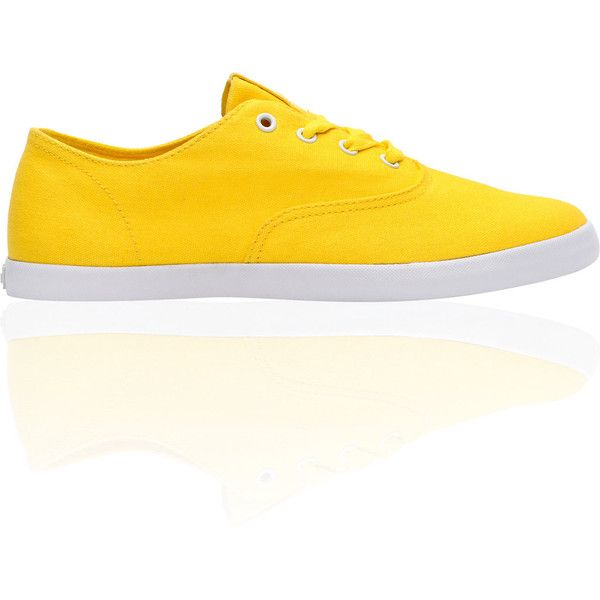 Supra Wrap Yellow Canvas Shoe at Zumiez : PDP ($50) ❤ liked on Polyvore featuring shoes, yellow shoes, yellow canvas shoes, supra footwear, canvas shoes and supra shoes