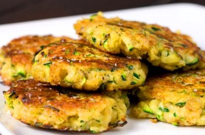 Spam Zucchini Patties... those islanders, they know how to do spam :)