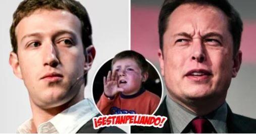 (adsbygoogle = window.adsbygoogle    []).push();   Hay peleas de todo tipo, de insectos, de boxeadores contra luchadores MMA, de tiburones contra nadadores, pero nada como la de dos de los millonarios más emblemáticos de la actualidad: Elon Musk Vs. Mark Zuckerberg.   El par de...