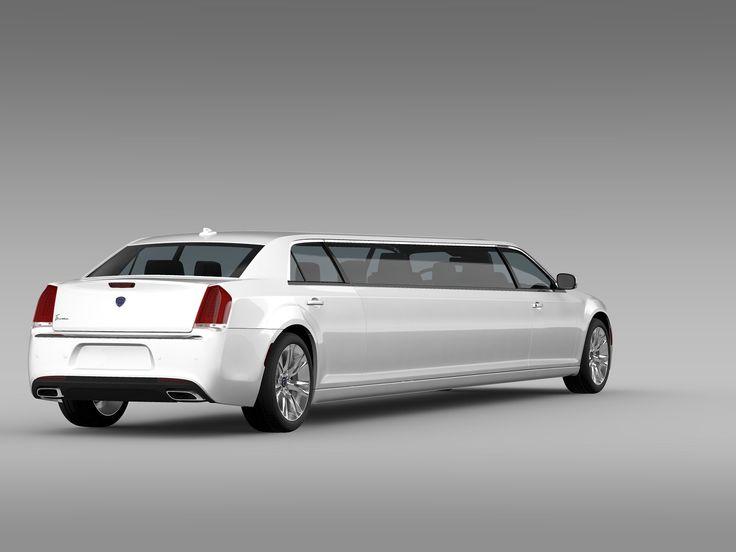 Lancia Thema Limousine 2016 #Autodesc#Maya#Model#correctly