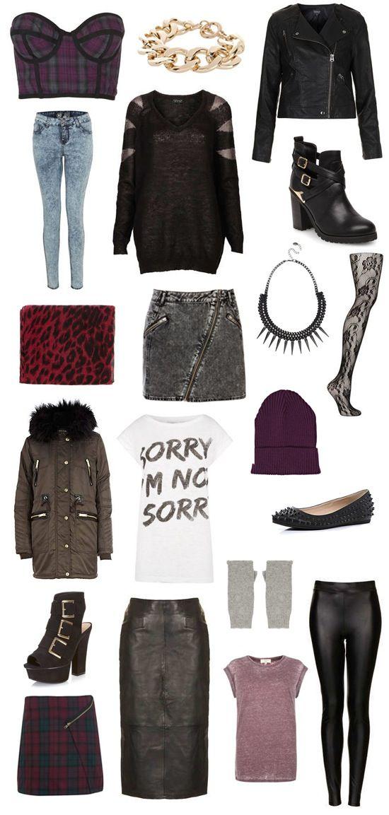 Autumn / Winter '13 Fashion Trends: Modern #punk