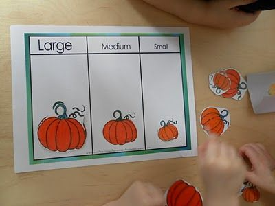 "Pumpkin Activities but also MANY ""P"" activities"