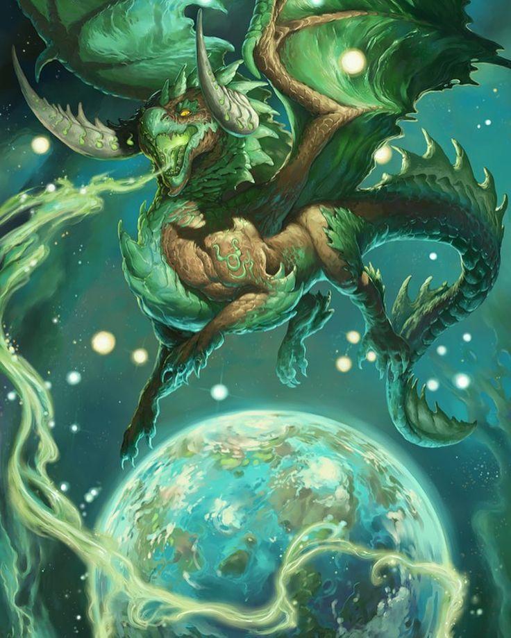 Телец дракон картинки