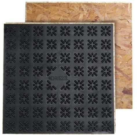 DRIcore 2' x 2' Subfloor Panels trimmed.