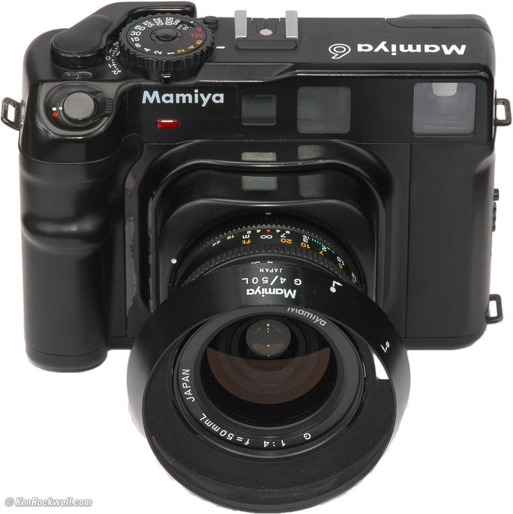 Mamiya 6  -- I have to get my hands on one of these. I love the challenge of film.