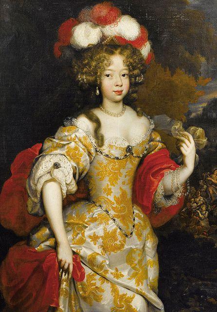 Hortense Mancini Duchess of Mazarin (1646-1699) favourite niece of Cardinal Mazarin and a mistress of Charles II, King of England, Scotland and Ireland.