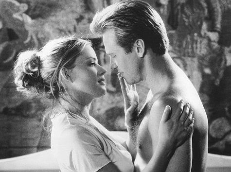 "Val Kilmer & Elisabeth Shue in ""The Saint"""