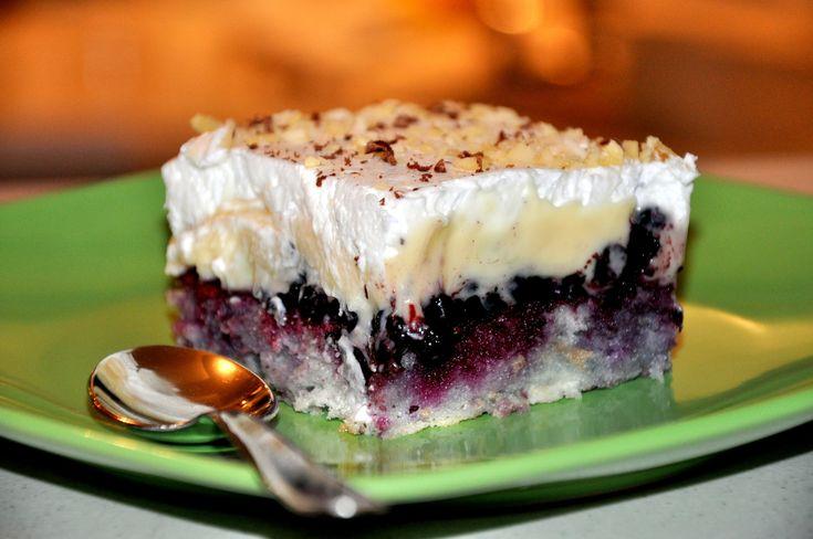 Modrý koláč