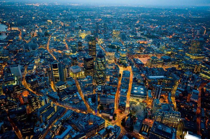 9 locuras del skyline de Londres