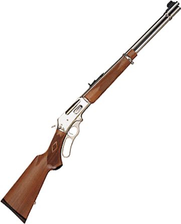 Marlin Model 336 lever action 30 30 stainless steel I really like those lever action rifles.