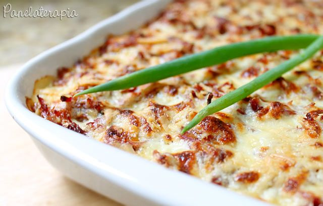 Gratinado de Abóbora com Carne Seca ~ PANELATERAPIA - Blog de Culinária, Gastronomia e Receitas