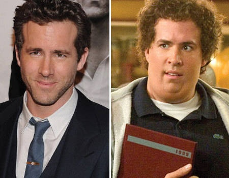 "Movie transformation: Ryan Reynolds in ""Just Friends"""
