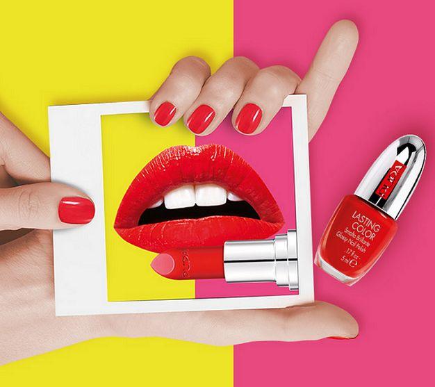 """Smalto Pupa """"Lasting Color"""" omaggio con il rossetto I'M - http://www.omaggiomania.com/cosmetici/smalto-pupa-lasting-color-omaggio-rossetto-im/"""