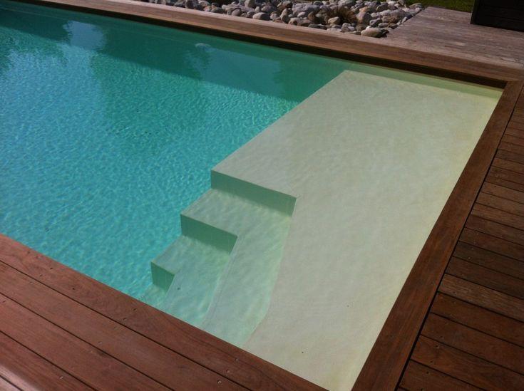 Les 25 meilleures id es de la cat gorie escalier piscine for Sims 4 piscine a debordement