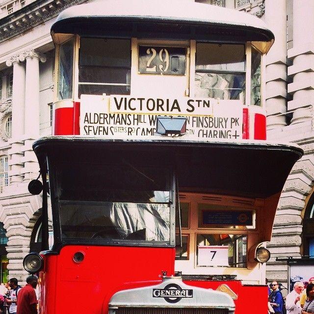 Tge Bus Cavalcade today in Regent street #YearOfTheBus #BusCavalcade #Regentstreet #London #TFL #TransportMuseum - Alenaluna