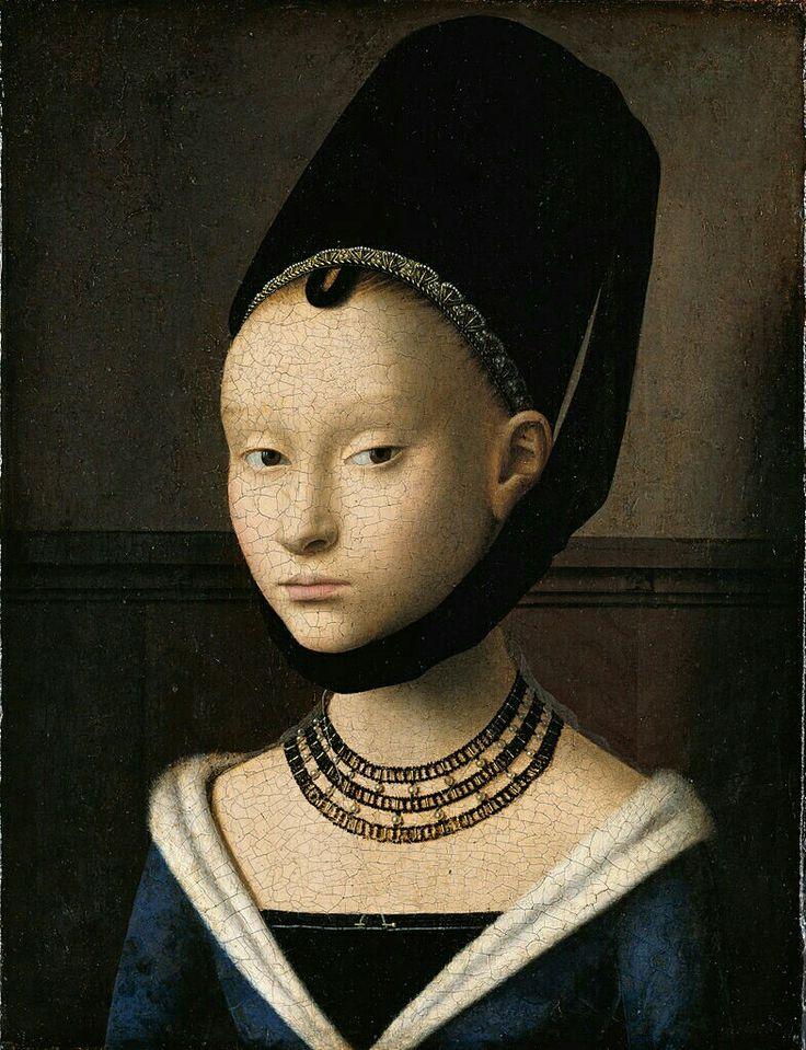 """Petrus Christus : """"Portrait d'une jeune fille"""""""