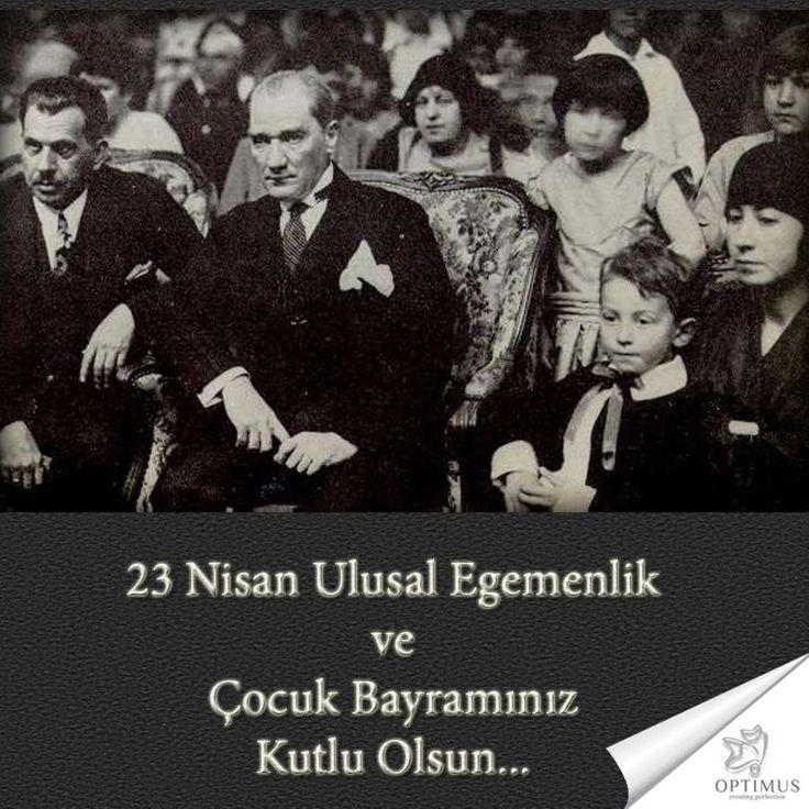 23 Nisan Ulusal Egemenlik ve Çocuk Bayramınız Kutlu Olsun... #April23 #23Nisan #Atatürk  www.optimusmedikal.com