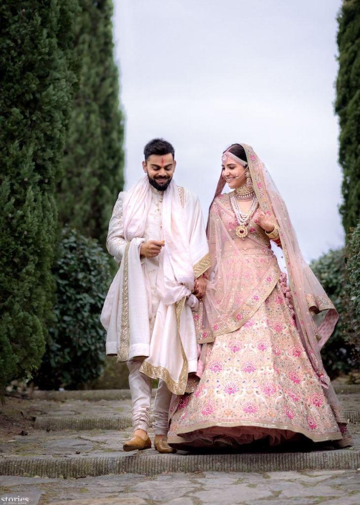 The Real Anushka Sharma Deepika Padukone Lehenga Cost Frugal2fab Bridal Lehenga Collection Indian Wedding Outfits Wedding Outfit